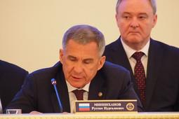 Минниханов: «Финансируемые из-за рубежа СМИ стремятся разжечь межнациональную рознь»