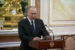 Путин заявил, что погибшие под Северодвинском испытывали уникальное оружие