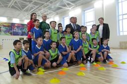 Рустам Минниханов открыл в Осиново новое здание лицея на 800 учащихся