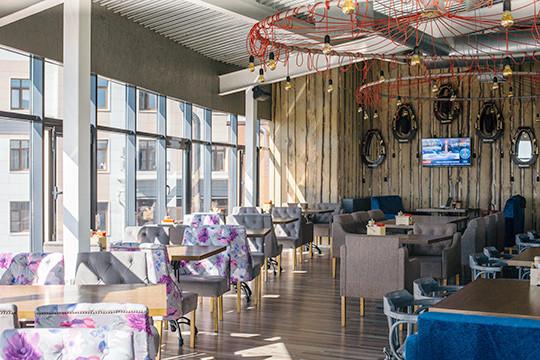 Sky 8 Terrace&Grill представляет: невероятный вид, кухня на «живых» углях и открытое общение!