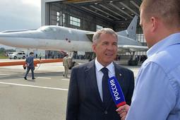 Минниханов о Ту-22М3М: «Пусть Всевышний даст чаще встречаться по таким поводам!»