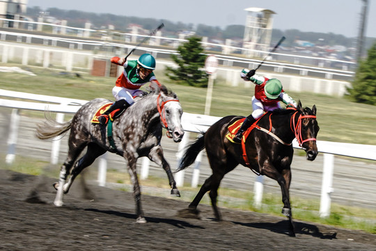 День лошади: традиционные скачки в честь Сабантуя на казанском ипподроме
