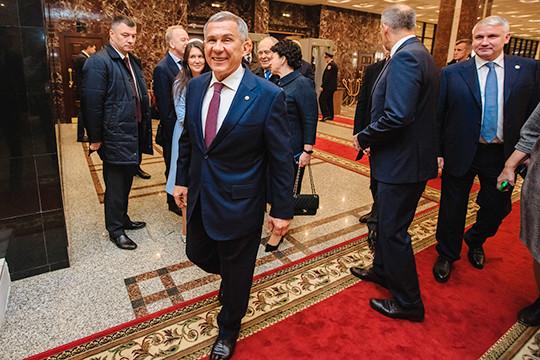 Послание Минниханова новым депутатам Госсовета РТ: поздравления, советы, предупреждения
