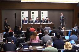 Пресс-конференция ВАДА после отстранения России от участия в международных соревнованиях
