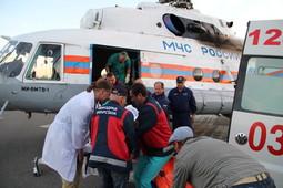 Пострадавших при взрыве дома в Заинске доставили в Казань