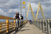 «Велосипедист в Казани сегодня проезжает в день от 4 до 7 км, от Азино до центра – 7 км…»