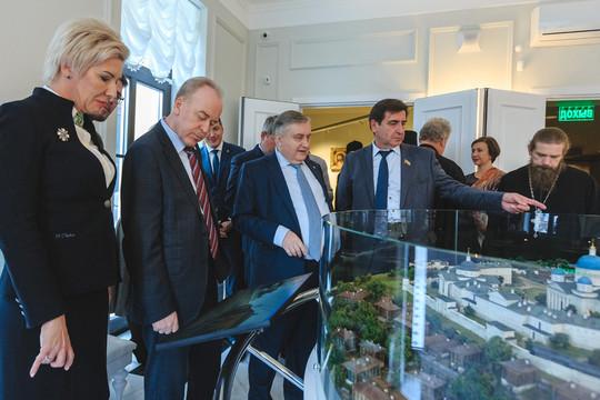Музей казанской иконы: чем на открытии Валерий Сорокин удивлял политический и культурный бомонд
