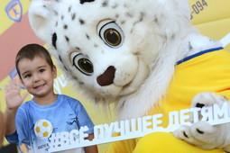В Казани открылась международная футбольная школа «Юниор» для детей от 3 лет