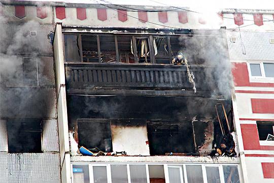 В доме на проспекте Победы взорвался газ, есть пострадавшие