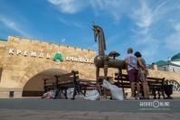 В Казани появился бронзовый «Конь-Страна»