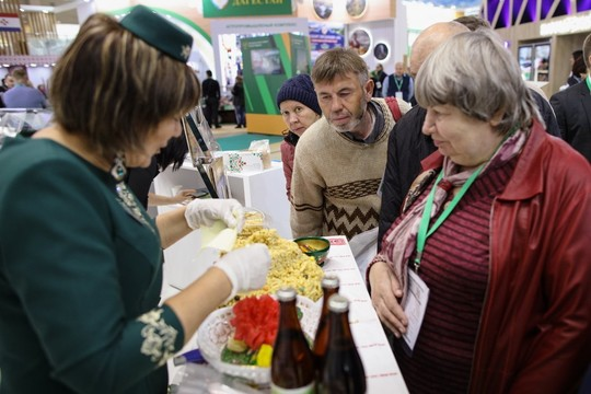 Татарстанские компании показали новинки на выставке «Золотая осень» в Москве