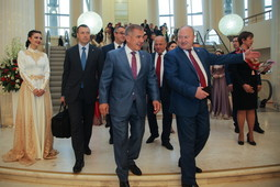 Минниханов открыл Дни Татарстана в Москве