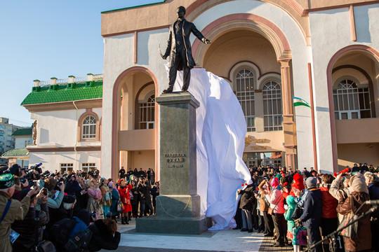 Ждали 20 лет: в Уфе открылся памятник Габдулле Тукаю