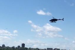 В Нью-Йорке вертолет упал в реку Гудзон