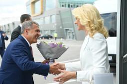 Голикова прибыла в Казань для участия в церемонии открытия WorldSkills
