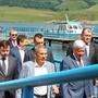Рустам Минниханов прибыл на нефтяной саммит на катере «Татнефти»