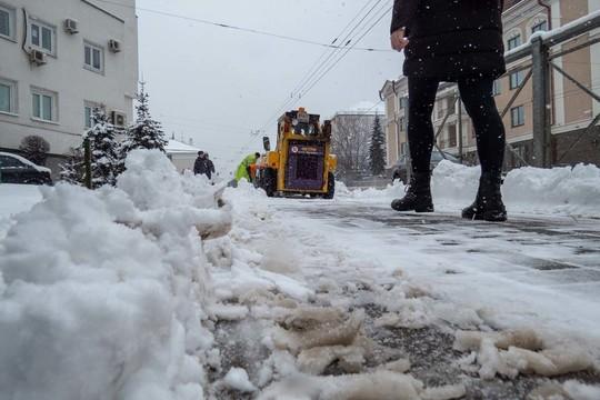 На Татарстан обрушился невиданный даже зимой буран