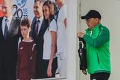 Последний матч Бердыева вКазани: пустые трибуны ихолод
