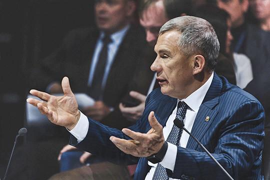 Рустам Минниханов: «Это для бюрократии сделано или для коррупции?»