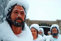 Ростовые фигуры Иисуса Христа и 12 апостолов установили в Нижнекамском районе