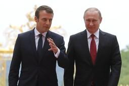 LIVE! Совместное заявление для прессы Путина и Макрона