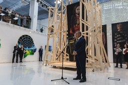 Минниханов открыл галерею современного искусства в Казани: ее отремонтировали за 343 млн рублей