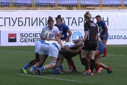 В Казани открылся турнир по регби среди женских команд
