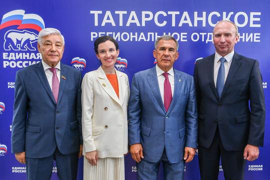 Спикер, гонщик и девушка: «Единая Россия» определила кандидатов в Госсовет РТ
