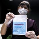 Baza: В Чечне купивших сертификаты заставили вакцинироваться