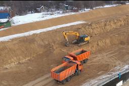 Минтранс опубликовал видео стройки Большого казанского кольца
