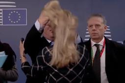 «Бумеранг за Ельцина»: в сети обсуждают странное поведение главы Еврокомиссии на саммите ЕС