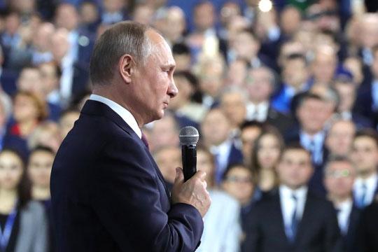 Владимир Путин: «Мы не должны относиться к России как к любимой бабушке»