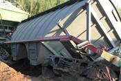В Челнах вытаскивают вагон, сошедший с путей 9 дней назад