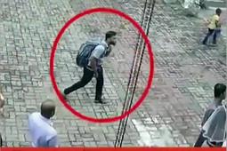 Появилось видео с возможным исполнителем теракта на Шри-Ланке