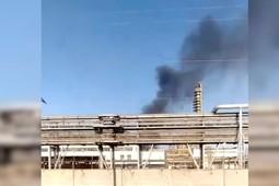 17 человек пострадали при пожаре в промзоне в Нижнекамске