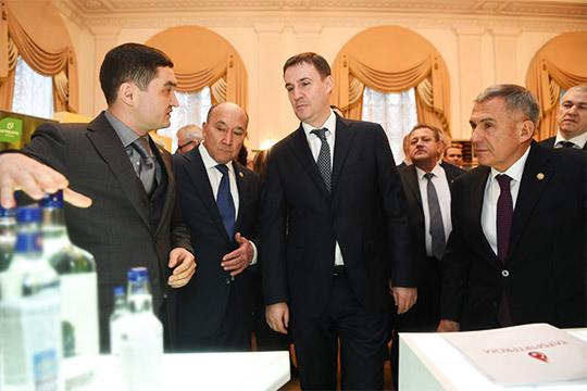 Минниханов– Патрушеву: «Думаю, надо невдва, автри ичетыре раза вырасти!»