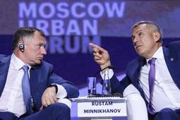 Urban Forum 2019: Минниханов вспоминал Универсиаду, а Хуснуллин ставил амбиционные задачи
