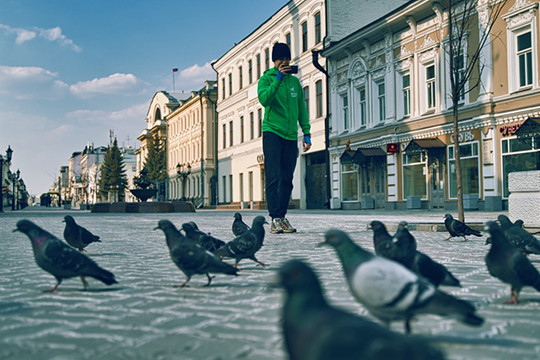 Казань на самоизоляции: как город прожил первую неделю карантина
