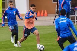 Фалькао приехал, а Родригес пропустил тренировку