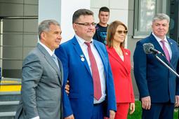 Минниханов открыл в Челнах новое здание городского суда