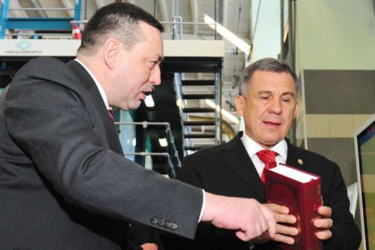 Минниханов «подписал» фонд дольщиков, Муратов выводит Галимову, а РФПЛ «морозит» «Рубин»