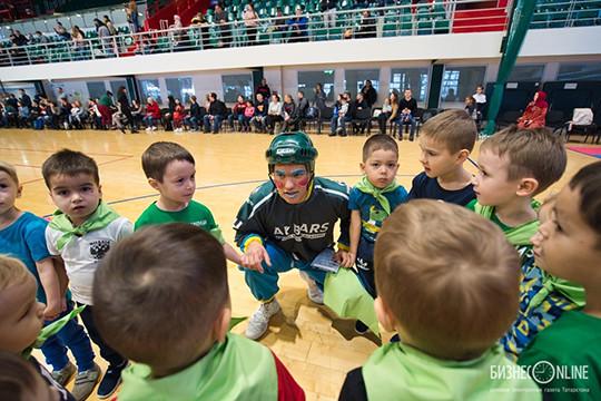 Чему учит хоккей четырехлетних малышей?