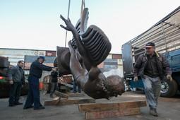 Памятник Рудольфу Нуриеву начал путь из мастерской Церетели в Казань