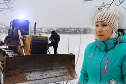 «Это варварство!»: под Зеленодольском заповедное озеро застраивают коттеджами