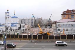 «Золотая миля»: под стенами Казанского кремля строят VIP-апартаменты