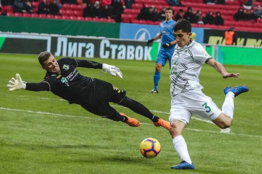 «Ростов» одержал победу над «Рубином» благодаря дублю Еременко
