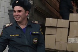 Предприятия Татарстана отправили новогодние подарки в Украину