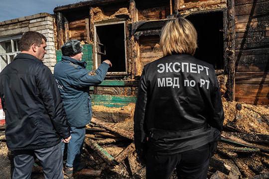 Трагедия на улице Пестеля в Казани: в пожаре погибла семья из 6 человек