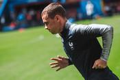 Французы провели открытую тренировку перед матчем с Австралией