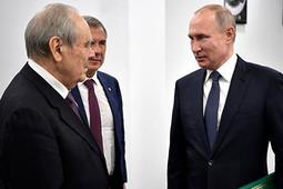 «Владимир Владимирович первым делом поинтересовался, как дела уМинтимера Шариповича»
